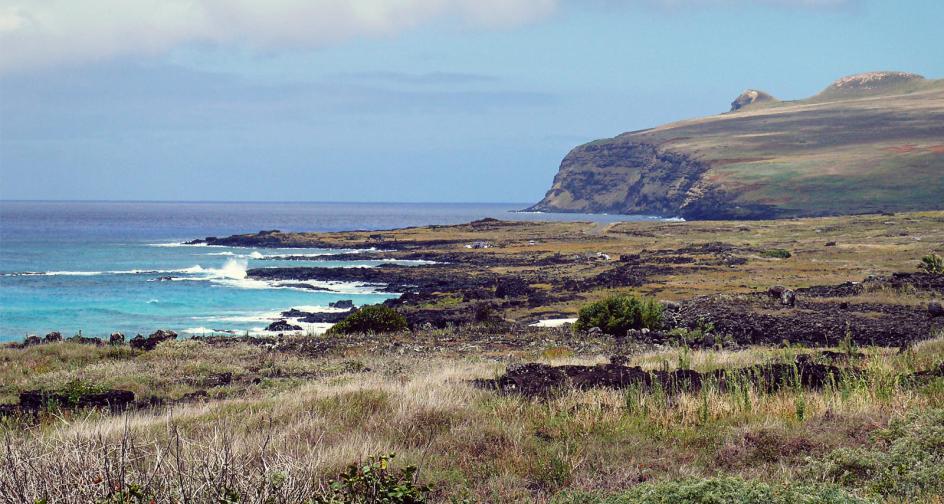 Wyspa Wielkanocna, zdjęcie z podróży