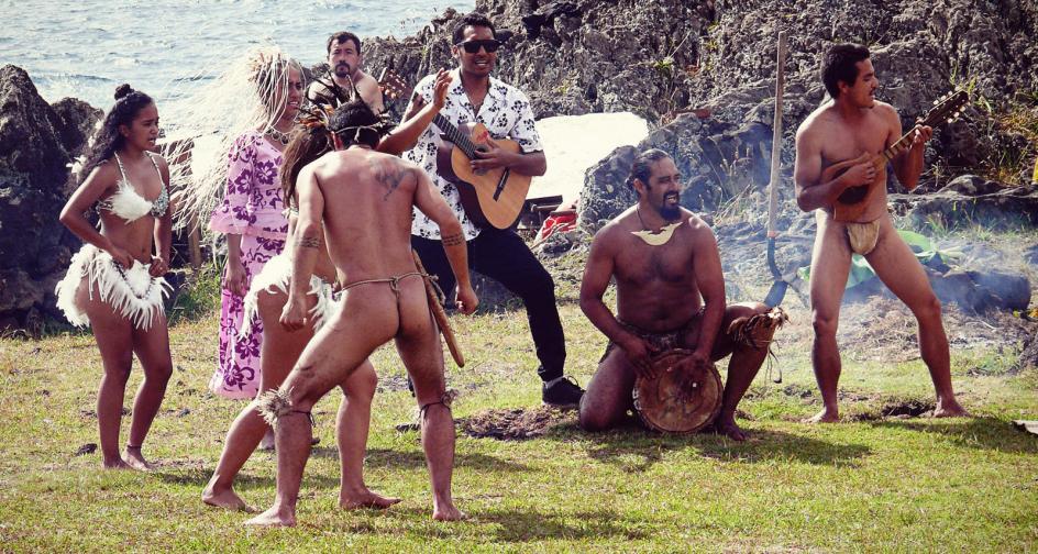 Rapa Nui, taniec mieszkańców Wyspy Wielkanocnej