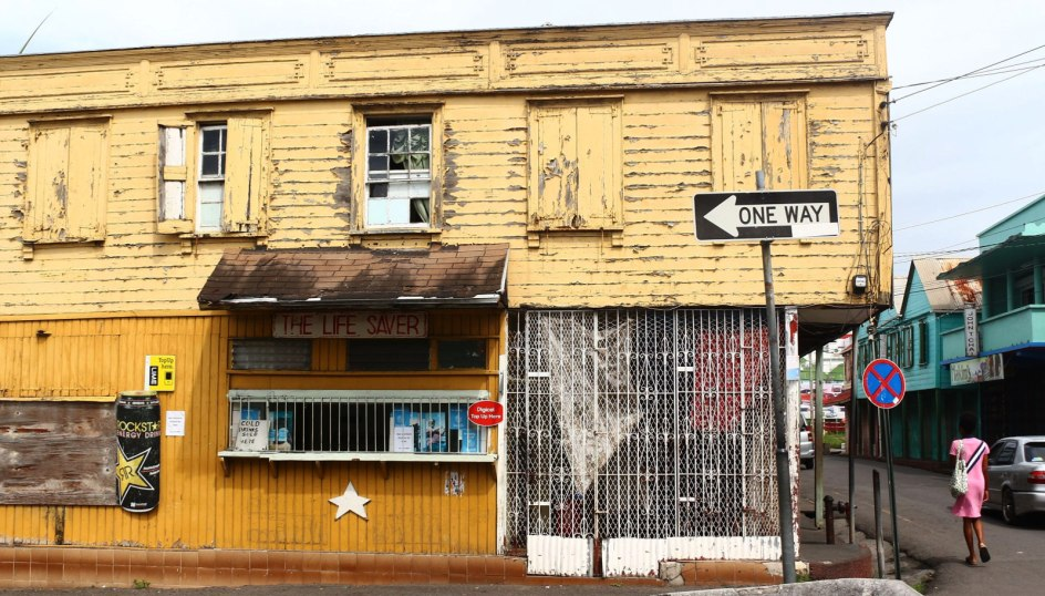 Antigua i Barbuda, zabudowania Saint John's
