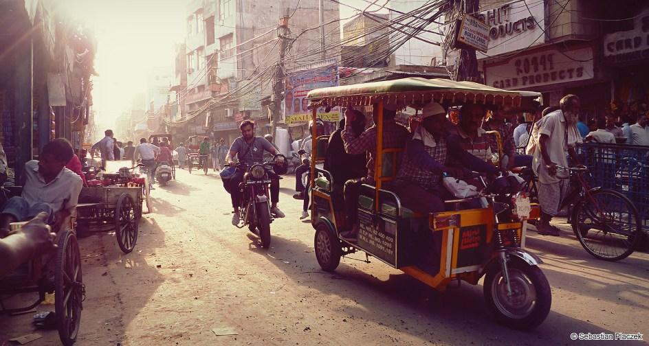 Indie, życie w Delhi - fotoreportaż z podrózy - Sebastian Placzek