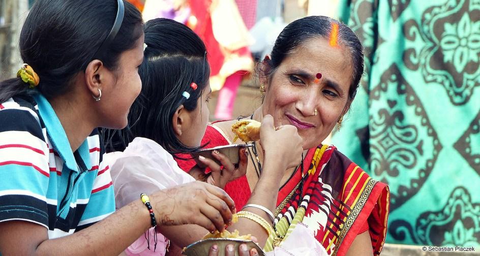 Indie, kobiety z Waranasi. Foto - Sebastian Placzek