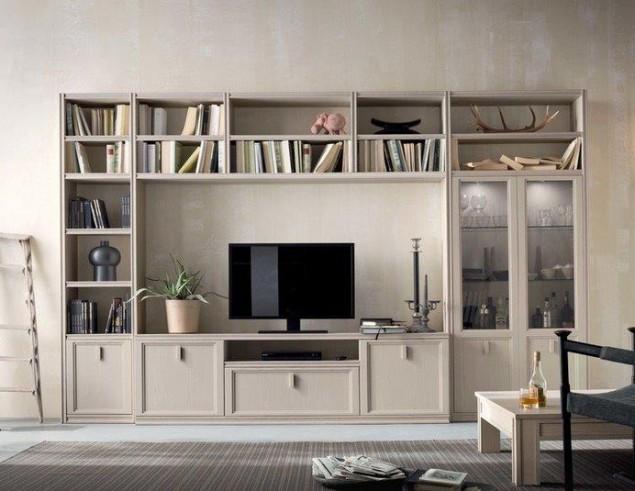 Mobile per soggiorno classico componibile Iris  Perosino