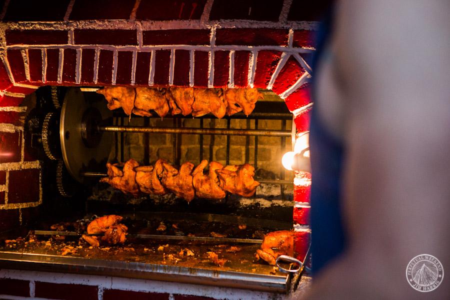 Todd Tumolo ready to buy roast chickens