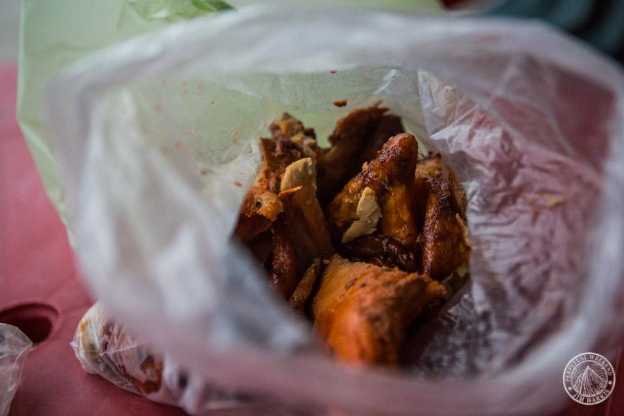 Bag of chicken