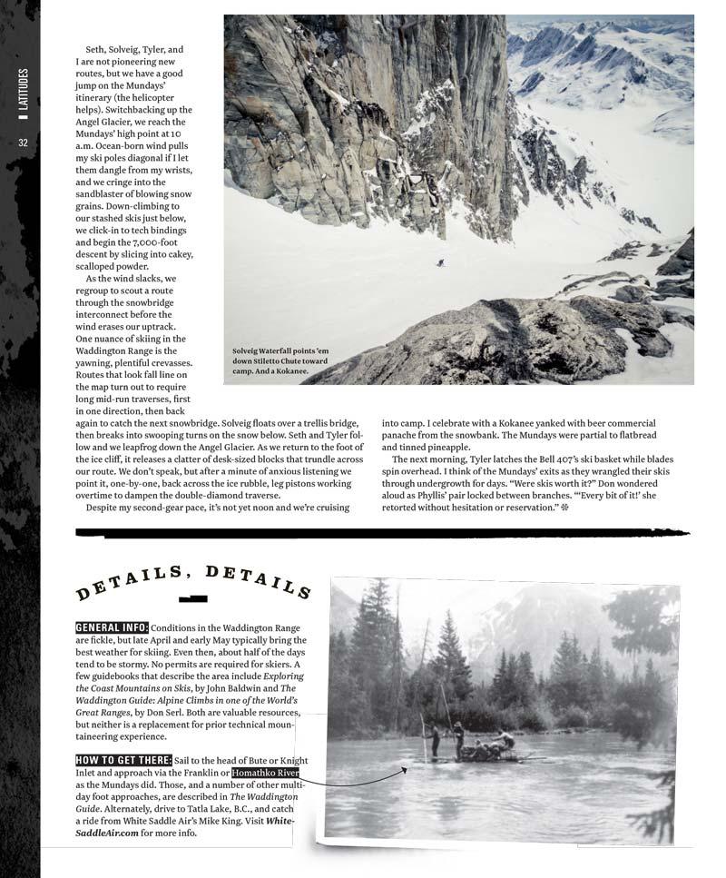 Powder Magzine Munday Mt Waddington British Columbia