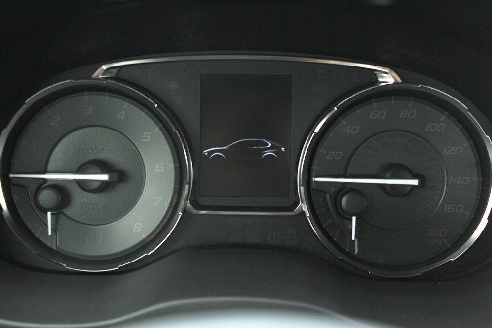 medium resolution of the actual gauge cluster found in the sti and wrx share the same basic construction with the super nice bright faces with white needles