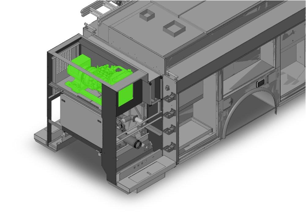 medium resolution of schematic of apu location on fire apparatus main body