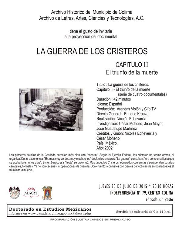 documental cristeros
