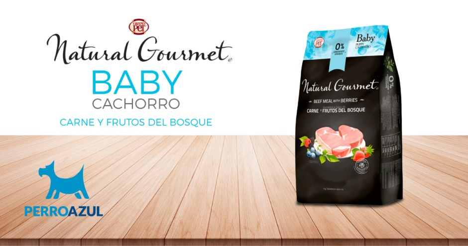 Natural Gourmet Baby Cachorro