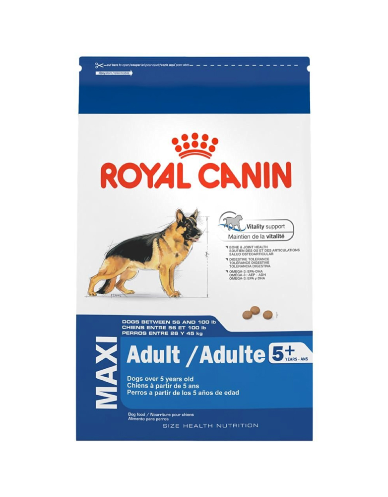 Royal Canin Maxi Adulto Senior 5+