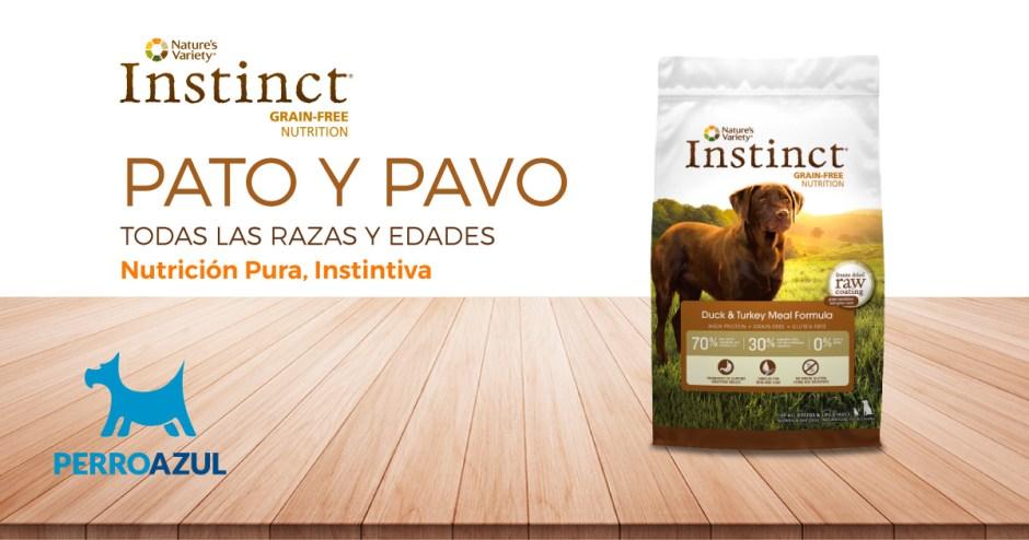 Instinct Pato y Pavo Todas las Razas y Edades