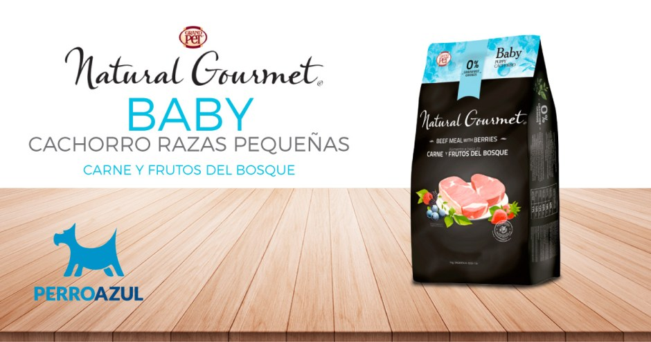 Natural Gourmet Baby Cachorro Razas Pequeñas