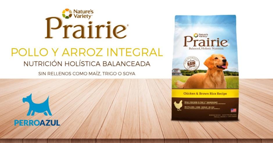 Prairie de Pollo y Arroz Integral