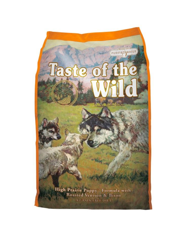 Taste of the Wild High Prairie de Bisonte y Venado Asado para Cachorro