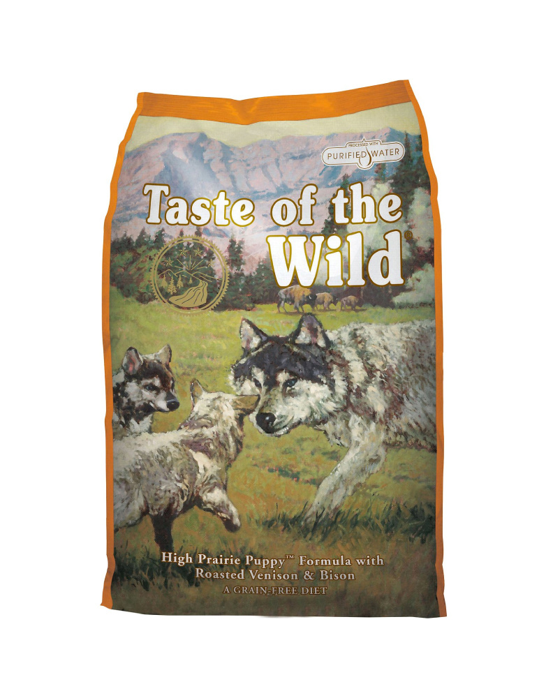 Taste of the Wild High Prairie de Bisonte y Venado Asado para Cachorro