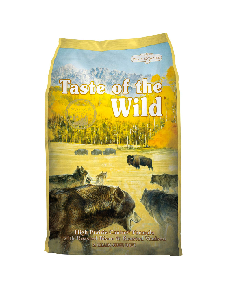 Taste of the Wild High Prairie Canine de Bisonte y Venado Asado para Adulto