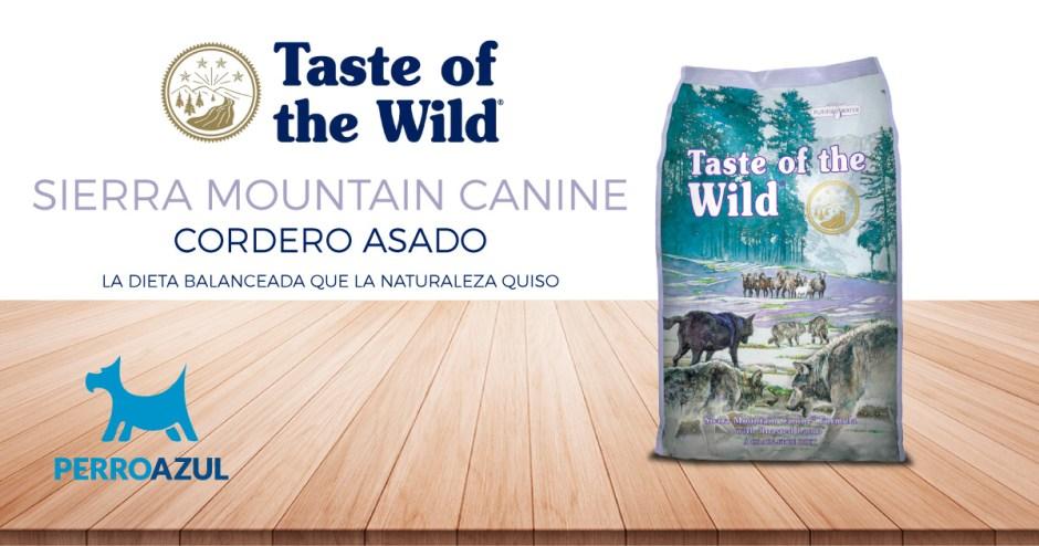 Taste of the Wild Sierra Mountain de Cordero Asado para Adulto