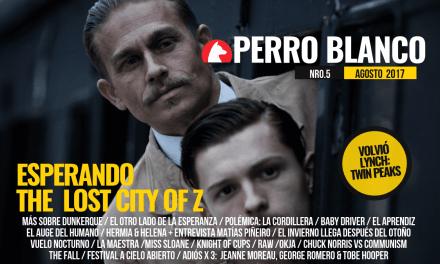 PERRO BLANCO | NÚMERO 5 | AGOSTO / 17