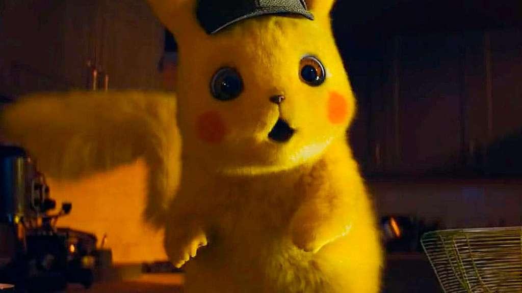 Detective Pikachu Perro Blanco 1