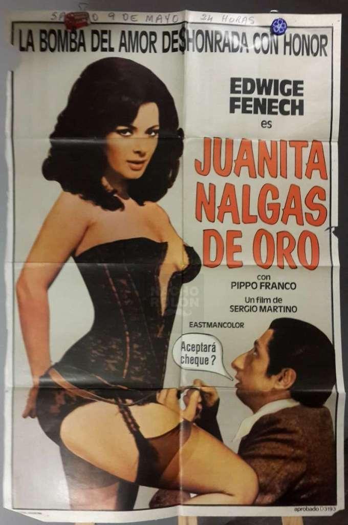 Afiche Cine Poster Juanita Nalgas De Oro Edwige Fenech D Nq Np 605020 Mla27436296468 052018 F