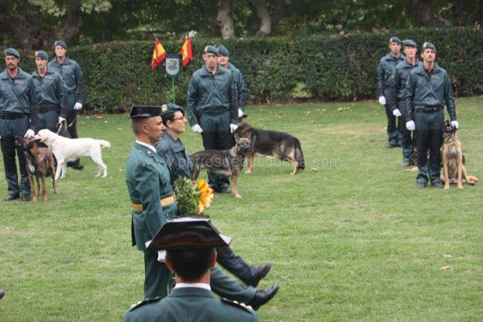 """alt=""""equipo cinológico celebración patrona Guardia Civil"""""""