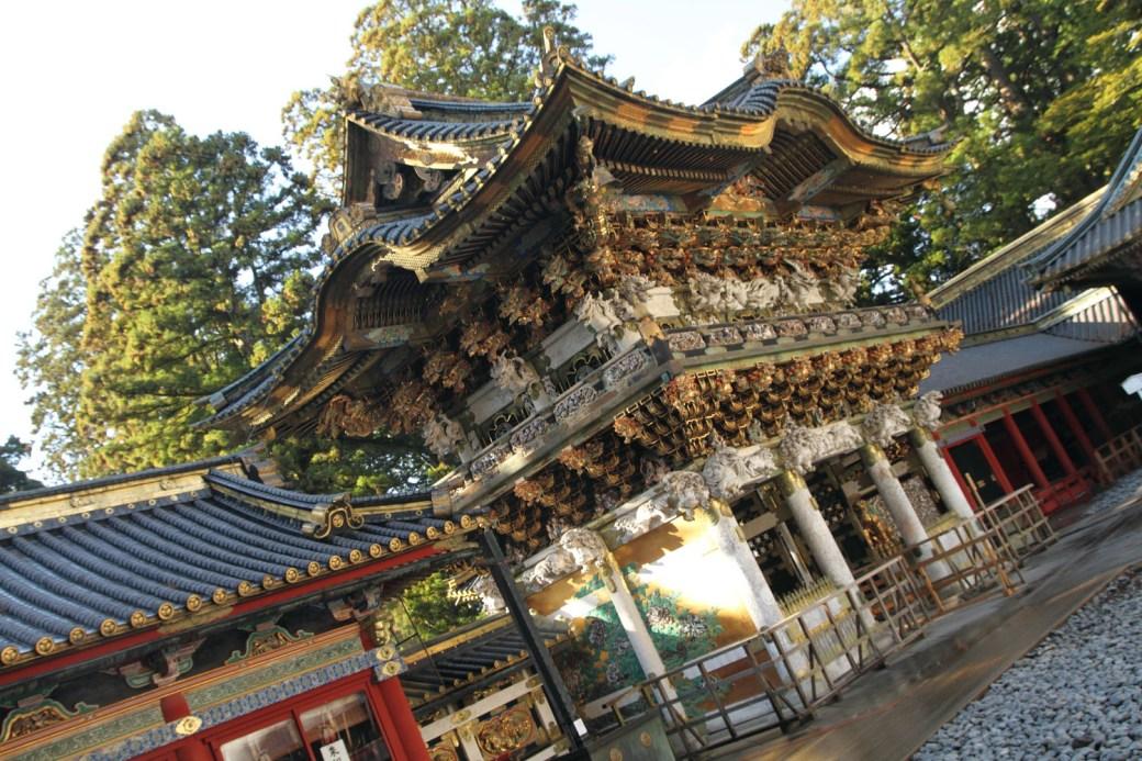 La puerta Yomeimon de Toshogu