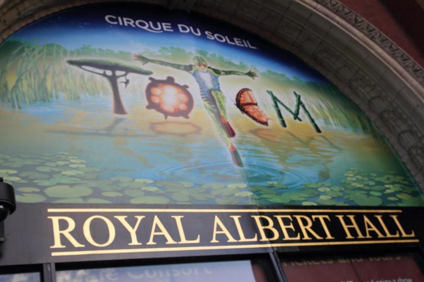 Totem en el Royal Albert Hall.