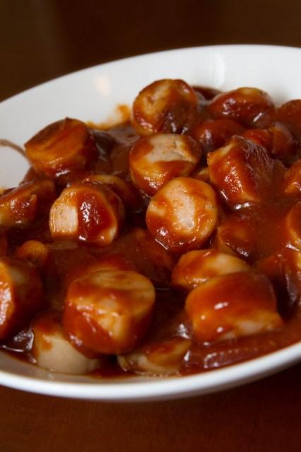 Currywurst: Mmmm, ¡buen provecho!