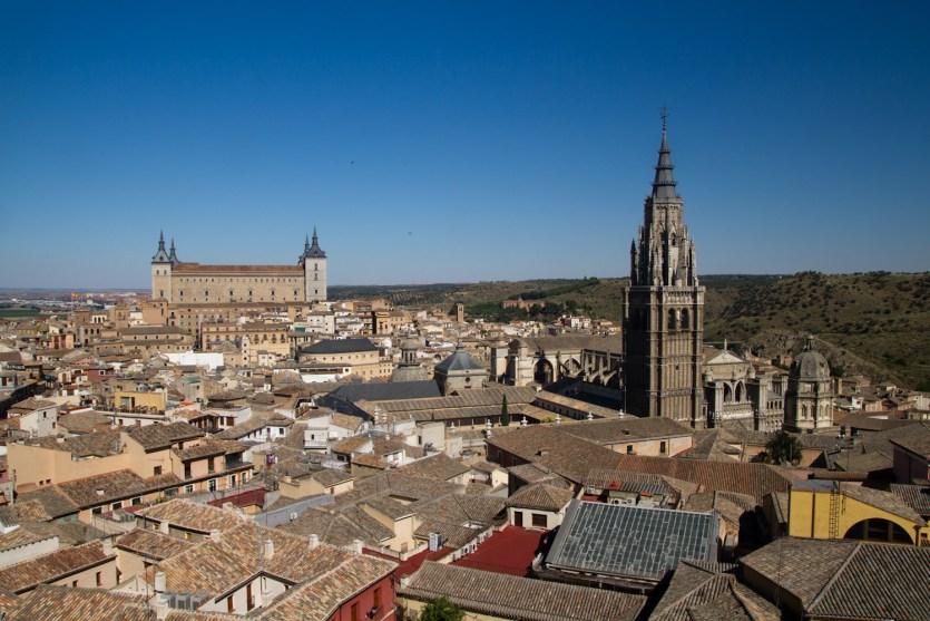 Centro histórico de Toledo, España