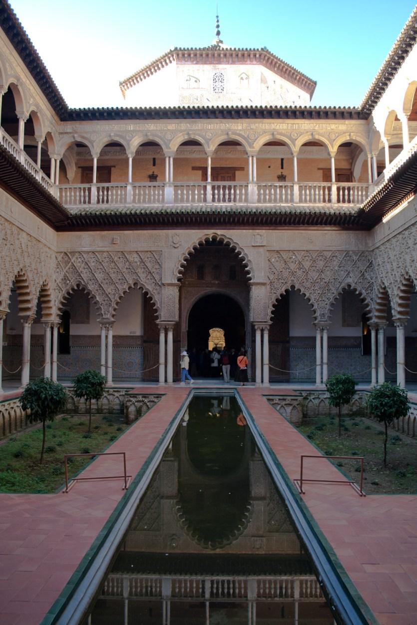 Patio de las Doncellas, Alcázar de Sevilla, España