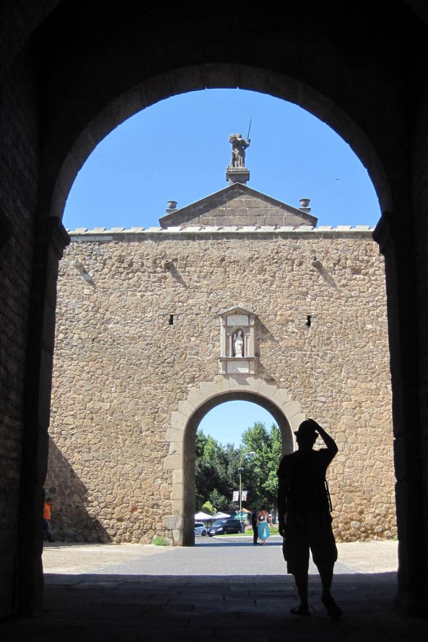 Puerta de Bisagra, Toledo, España