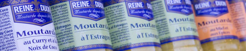 Distintos tipos de mostaza de Dijon