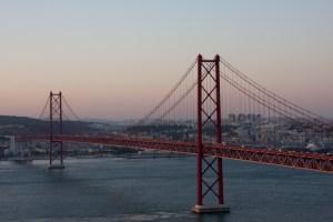Puente 25 de Abril, Lisboa, Portugal