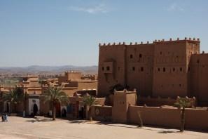 La kasbah de Uarzazate, Marruecos