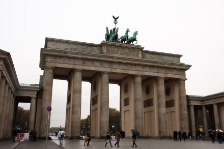 La Puerta de Brandemburgo, Berlín, Alemania
