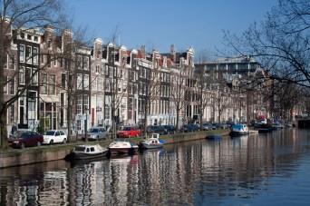 Arquitectura y canales, Ámsterdam, Países Bajos