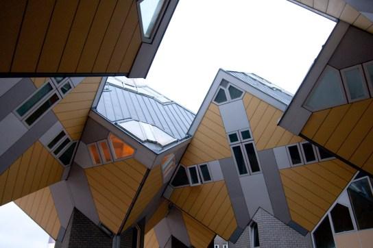 Cube Houses, Rotterdam, Países Bajos