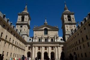 Basílica del Real Sitio de San Lorenzo de El Escorial, España