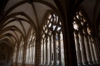 Claustro de la Catedral de San Salvador, Oviedo, España