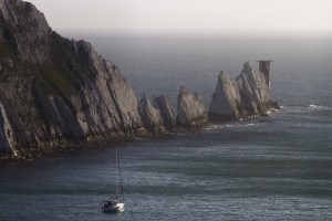 The Needles, Isla de Wight, Reino Unido