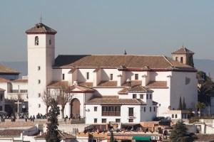 Iglesia y mirador de San Nicolás, Granada, España