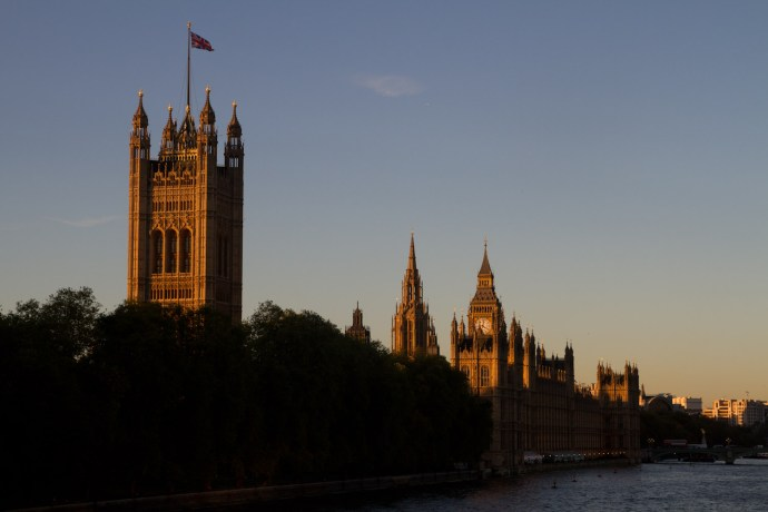 Palacio de Westminster o Casas del Parlamento, Londres, Inglaterra