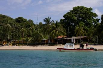 Campamento de la ANAM, Coiba, Panamá