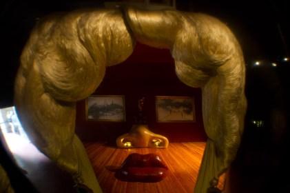 Retrato de Mae West que puede utilizarse como apartamento surrealista, Figueras, España