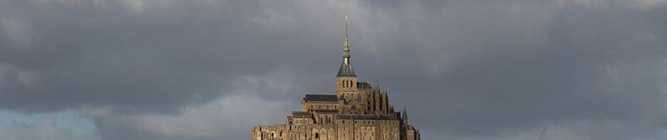 La Merveille, la abadía del Mont-Saint-Michel, Francia
