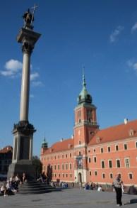 Palacio Real y Columna de Segismundo, Varsovia, Polonia