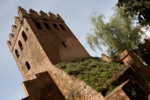 Torre de la kasbah de Chefchaouen, Marruecos