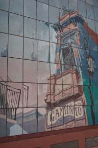 Pintura en Caminito, Buenos Aires, Argentina
