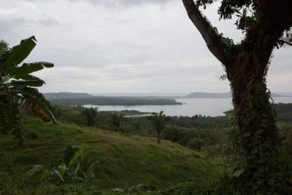 Isla toro e isla La Porcada, vistas desde Quebrada de Piedra, Panamá