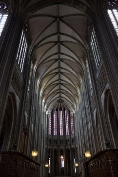 Sábado 8 — Vista general del interior de la catedral.